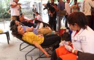 बाढी पिडित सहयोगार्थ 'चलचित्र पत्रकार संघ नेपाल'को रक्तदान कार्यक्रम
