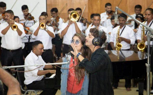 'प्रेमगीत ३' को शिर्ष गीतमा कोरस बने कलाकार