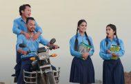 कान्छी मट्याङ ट्याङ भन्दै किरण, श्रेया, अजय र एलिना